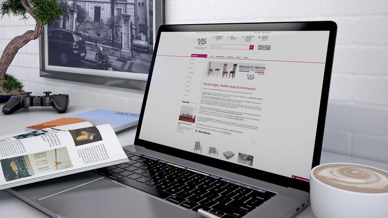 Site e-commerce meubles sieges - Mobilier design